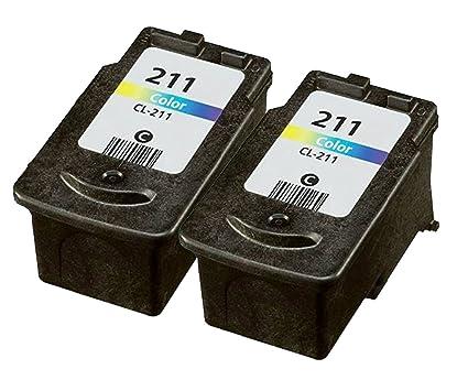 ocproducts rellenados Canon 211 Recambio de cartucho de ...