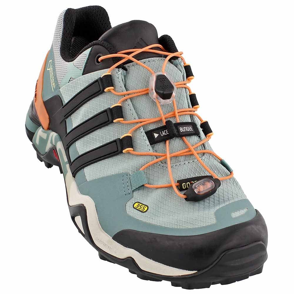adidas outdoor Womens Terrex Fast R GTX W B01HNFSWT0 6 M US|Tactile Green, Black, Vapour Steel