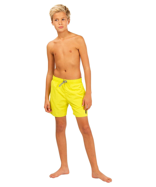 moderner Stil gutes Geschäft suche nach original Protest Jungen Badeshorts Culture Gelb (31) 128: Amazon.de ...