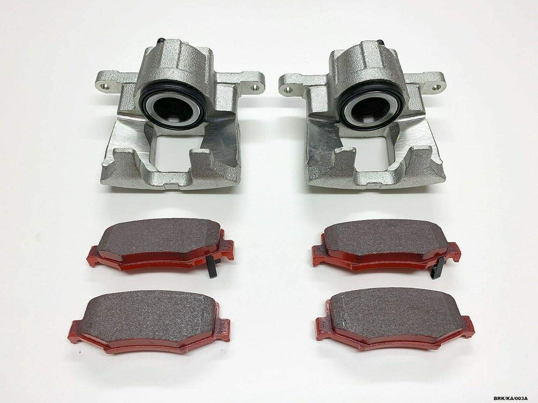 NTY Lot de 2 /étriers de frein arri/ère et plaquettes de frein Nitro KA 2007-2011