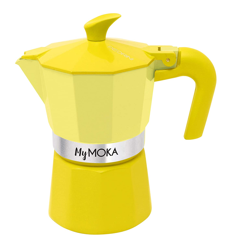 Pedrini mymoka Cafetera, Sunshine: Amazon.es: Hogar