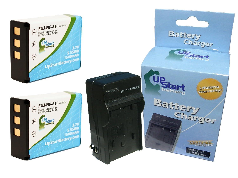 Amazon.com: 2 x Pack batería de repuesto para NP-85 + ...