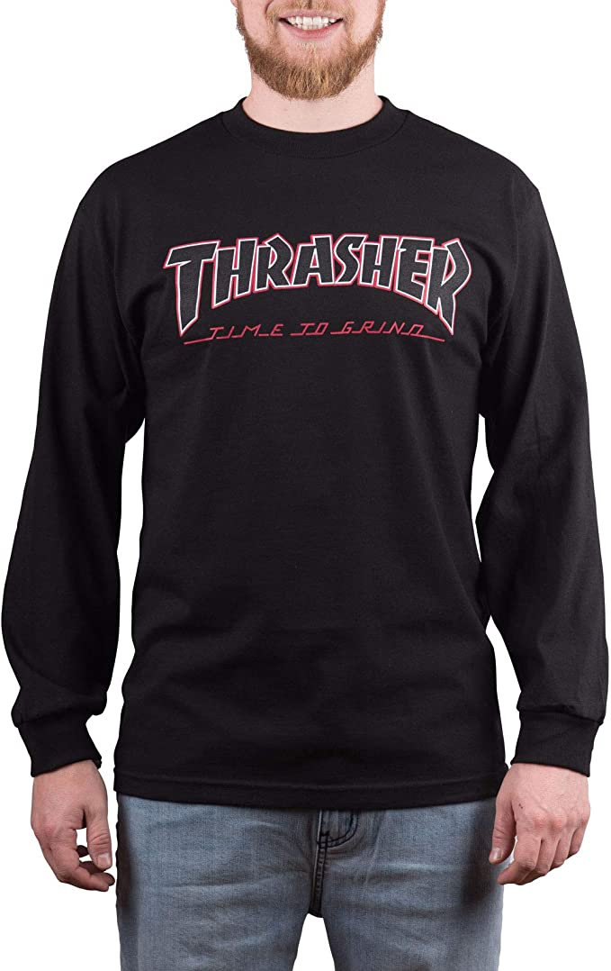 Independent X Thrasher Collab TTG Long Sleeve T Shirt Small