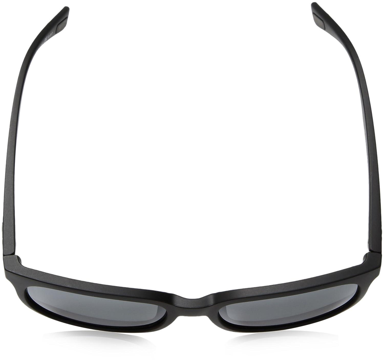 Revo Unisex Unisex RE 1050 Slater Wayfarer Crystal Lenses Polarized Sunglasses Matte Black Graphite 55 mm Revo Sunglasses