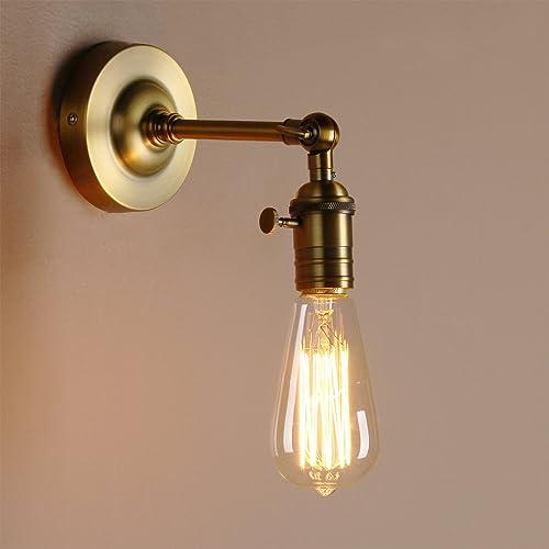 Industrial Wall Light Amazon: Splink Vintage Industrial Wall Sconce Wall Light Lamp