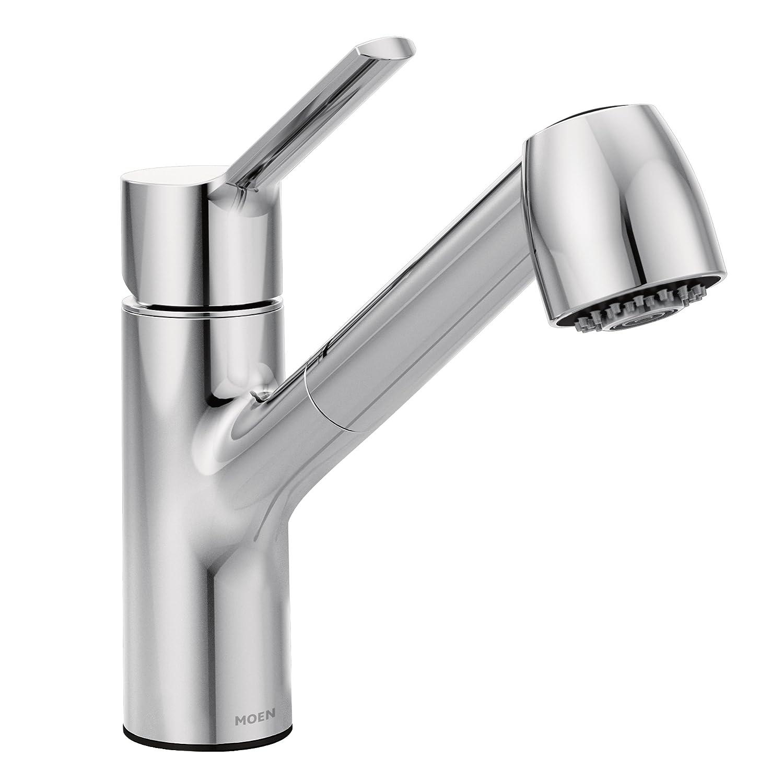 Moen 7585C Method One-Handle Pullout Kitchen Faucet, Chrome
