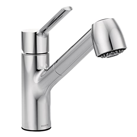 Moen 7585C Method One Handle Pullout Kitchen Faucet, Chrome