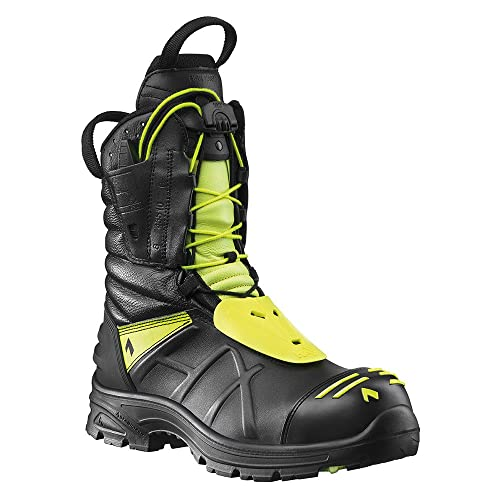 Haix Hombre Bomberos Botas Fire Eagle, Color Negro, Talla 48 EU / 13 UK: Amazon.es: Zapatos y complementos