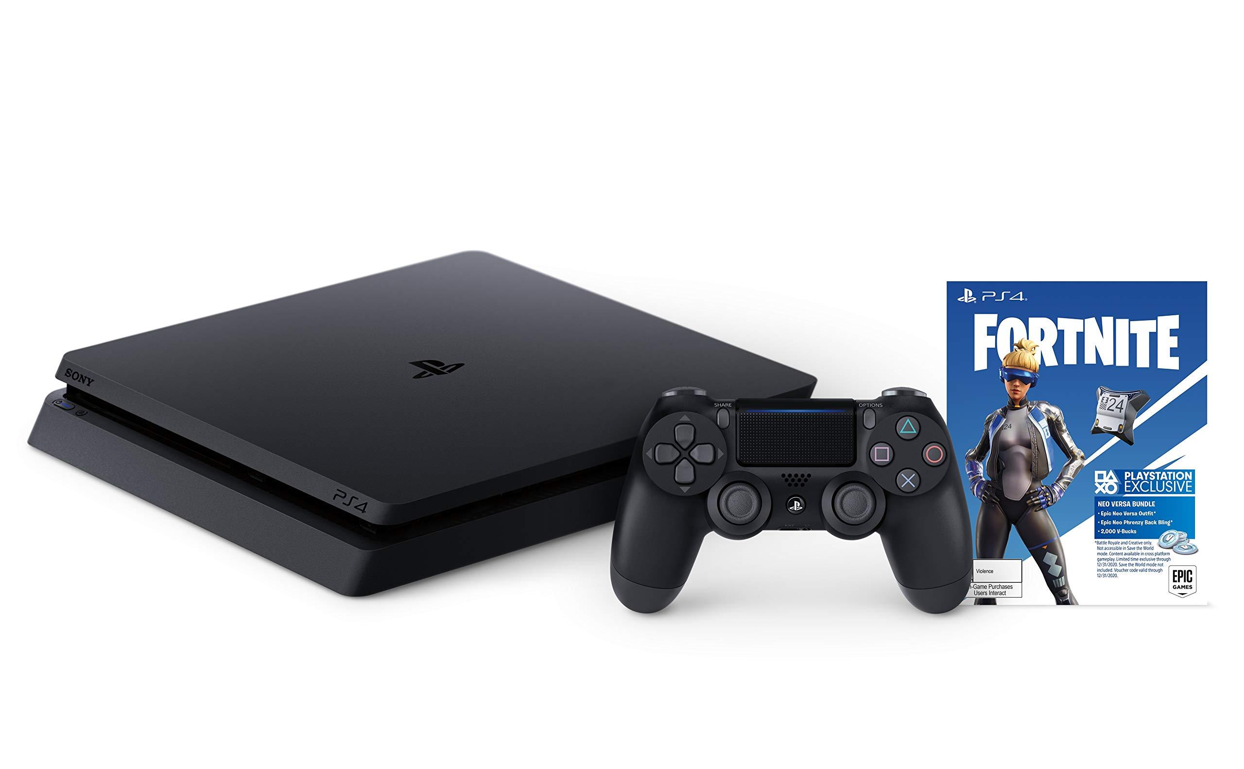 Consola PlayStation 4 Slim 1TB - Paquete Fortnite