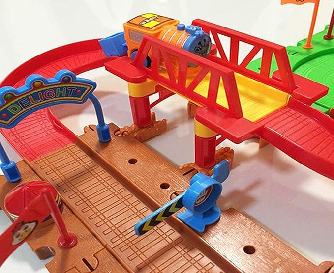New In Box!! The Ferris Wheel Train Track Set 122 pieces