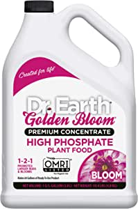Dr. Earth Golden Bloom High Phosphate Plant Food 1 Gallon