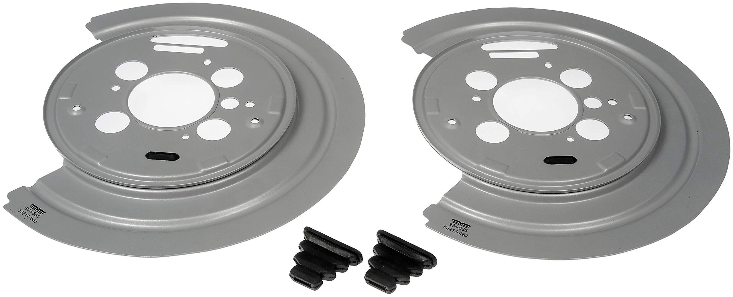 Dorman 924-685 Brake Dust Shield - 1 Pair for Select Models, 2 Pack by Dorman