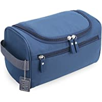 H&S Toiletry Bag Overnight Wash Bag Hanging Gym Shaving Bag for Men and Women Ladies Travel Blue