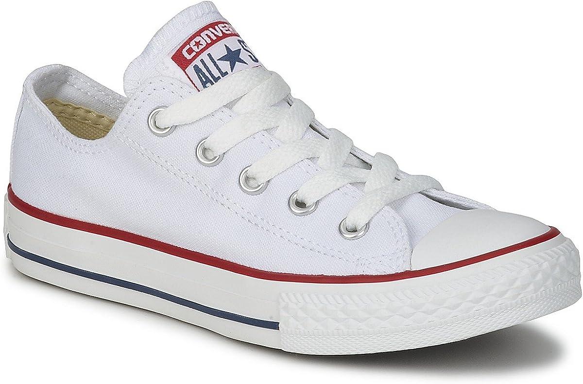 stivale principalmente Raffinatezza  Converse Classic Chuck Taylor All Star Low OX Tops Men Women Canvas Trainer  (3.5 UK, Optical White): Amazon.co.uk: Shoes & Bags