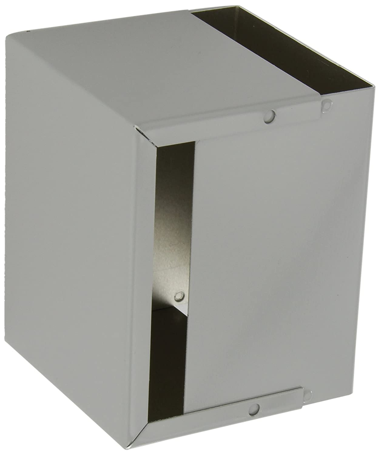 5 Length x 4 Width x 3 Height BUD Industries CU-2105-B Aluminum Electronics Minibox Smooth Gray Finish