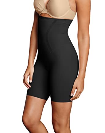 Maidenform Firm Foundations Dm5001 High Waist Thigh Slimmer Shapewear Shapewear