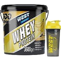 West Nutrition Whey Protein Tozu 3600 gr 100 Servis Muz Aromalı