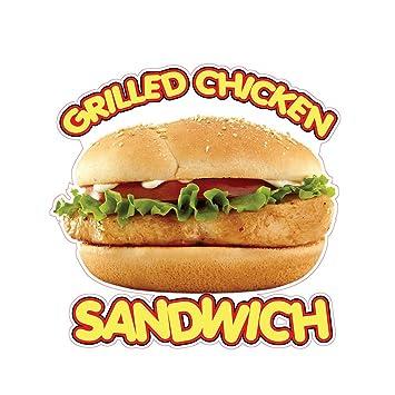 Amazon Grilled Chicken Sandwich Concession Restaurant Food