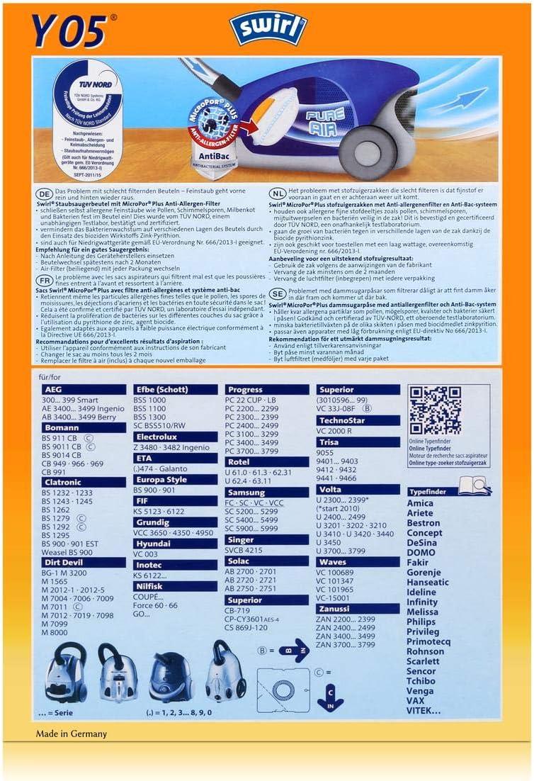 MKF 7 Staubsaugerdüsen Saugrohr Staubbeutel Duft Progress PC 3716 PC 3716T