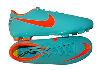 Nike Junior Mercurial Victory III Firm Ground Football Boots - J4 Blue 8903a53ff