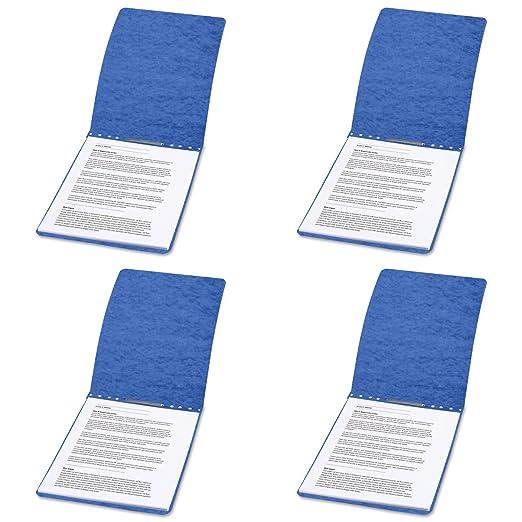 Press board report covers top bound
