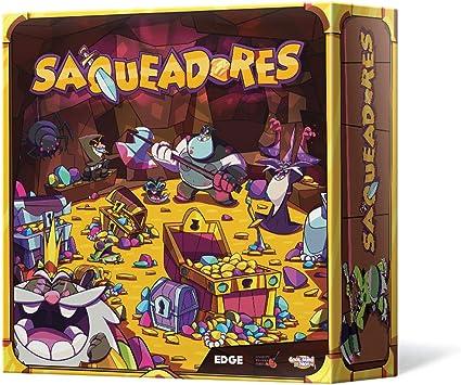 Edge Entertainment- Saqueadores - español. (Edge Entertainmet EDGLTZ01): Amazon.es: Juguetes y juegos