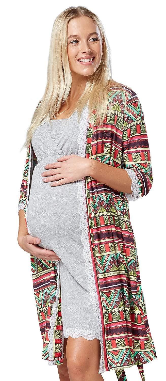 Zeta Ville Fashion Zeta Ville Damen Still-Nachthemd Pyjama Morgenmantel Morgenmantel Morgenmantel Mischen&Kombinieren - 591c B07L5MQZ85 Schlafanzüge Neuer Stil bb4ab7