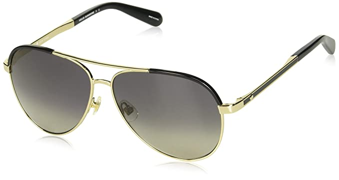 6d2285ce99 Image Unavailable. Image not available for. Color  Kate Spade Women s  Amarissa s Polarized Aviator ...