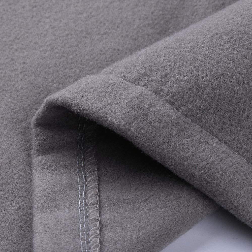 ITISME Homme Manteaux Coupe-Vent Veste Automne Hiver Chaud Longue Section Trench Long Outwear Button Manteaux Intelligents Tops Manteau Chic M-3XL Z2-gris
