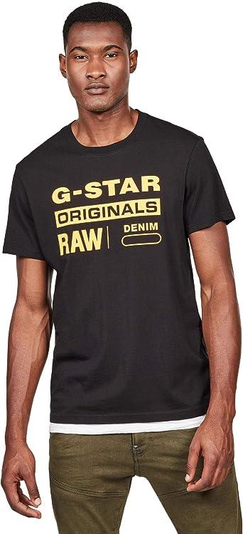 G-Star RAW Mens Raw. Graphic Slim T-Shirt