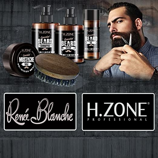 38 opinioni per Kit Barba e Baffi H-Zone Essential Beard- Renèe Blanche