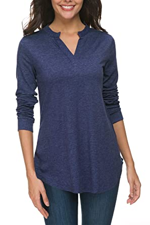 5ace99477e8 Image Unavailable. Image not available for. Color  Zattcas Womens Tunic Top  ...