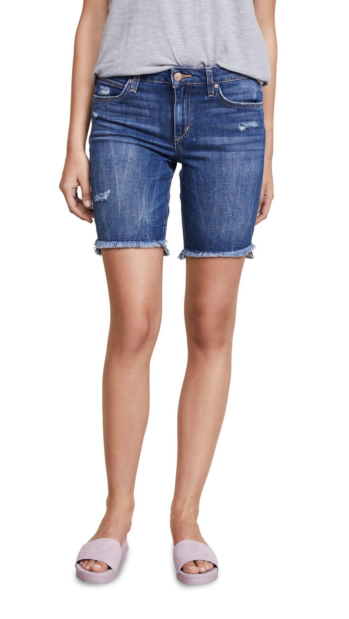 Joe's Jeans Women's Finn Midrise Cut Off Burmuda Jean Short, Karinne, 31