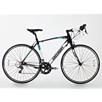 GREENWAY - Bicicleta de carretera, 16 velocidades Shimano, estructura de aleación