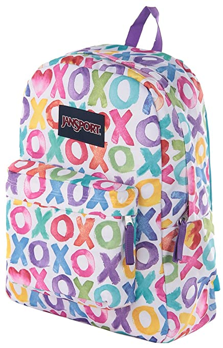 5fdac553aa49 Amazon.com  JanSport SuperBreak Backpack Multi O X O - JanSpor ...