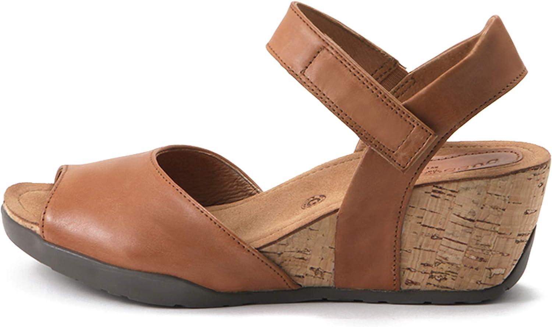 Natalie Adjustment Low Heels Bussola Women Nice Ankle Strap Wedge Sandals