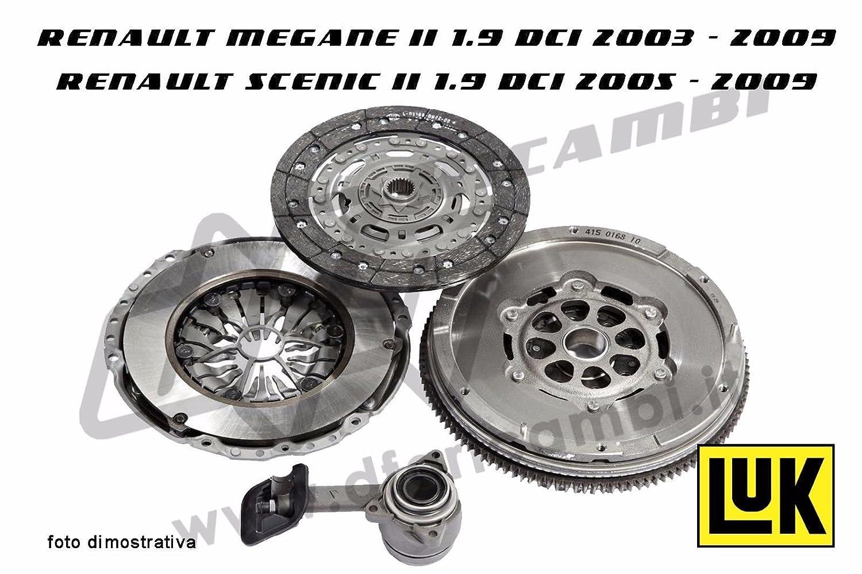 Kit Embrague + Volante + Rodamiento Hidráulico Luk kv0076 - 415026110 - 624321109 - 510008810: Amazon.es: Coche y moto