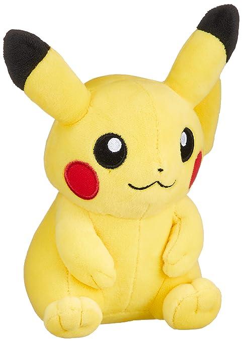 5ff38f73 Amazon.com: Pokemon Center Original Plush Doll Sitting Pikachu ...