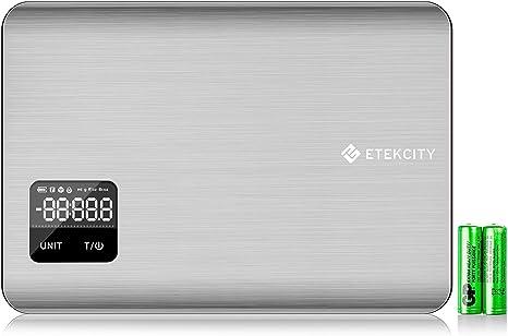 11lb//5kg Etekcity Digital Multifunction Stainless Steel Kitchen Food Diet Scale