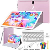 Tablet 10 Pulgadas 4G/WiFi Android 9.0 Pie Ultrar-Rápido Tablets 4GB RAM + 64GB ROM/256GB Escalable | Laptop Convertible…