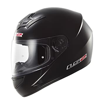 LS2 103521012S FF352 Casco Rookie Solid, Color Negro, Tamaño S