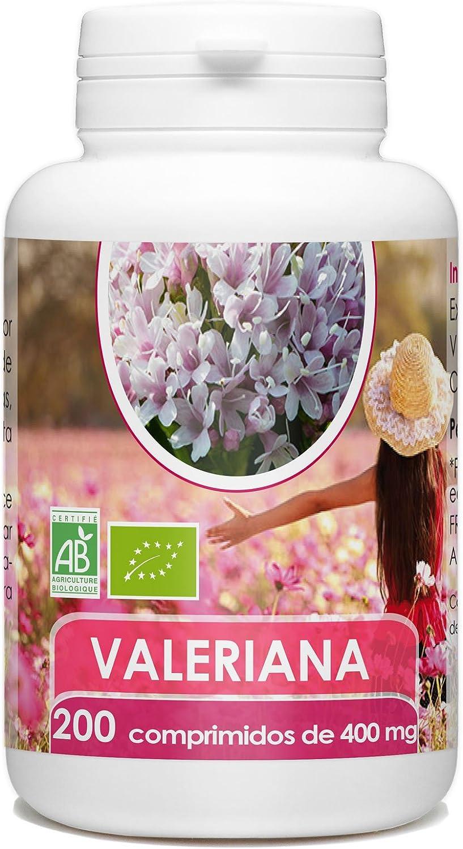 Valeriana Orgánico - 200 comprimidos - 400 mg por comprimido