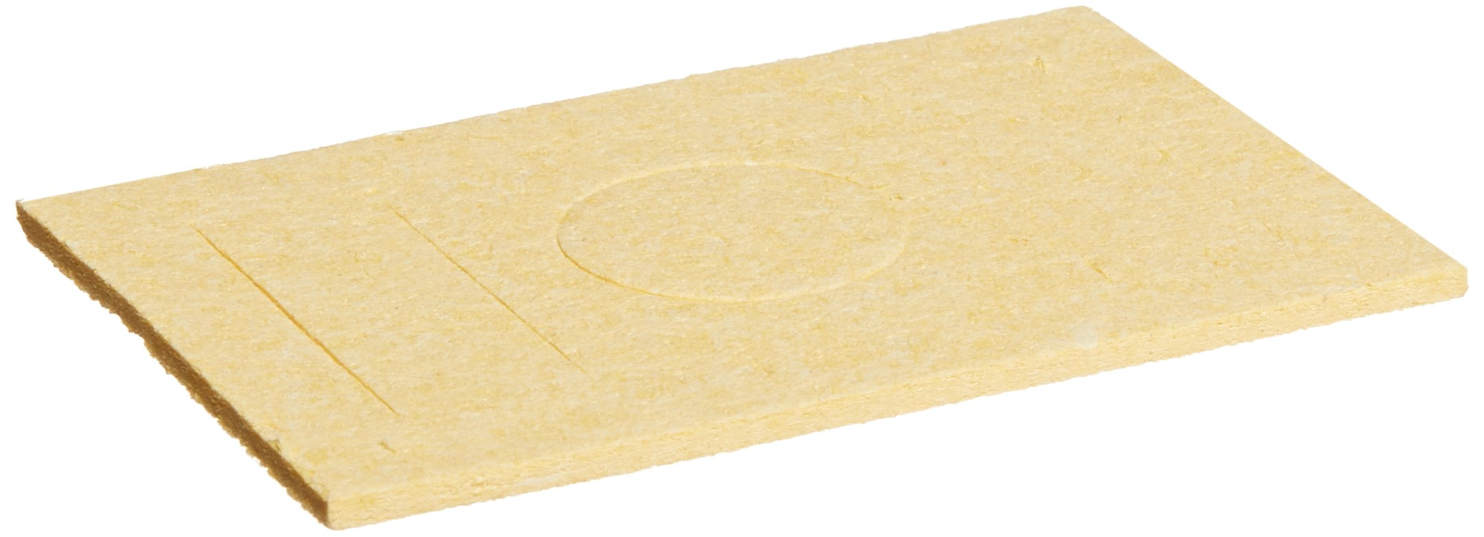 Metcal AC-Y10 Soldering Sponge for MX and MFR Rectangular work stand, Yellow (Pack of 10)