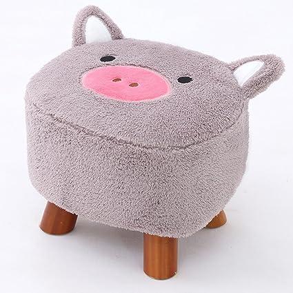 Sunkini Lindo Animal Heces Cerdo Otomana Lavable Pequeña Sala de ...