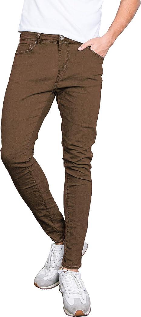 Westace Pantalones Vaqueros De Algodon Para Hombre Skinny Jeans Super Stretch Slim Fit Spandex