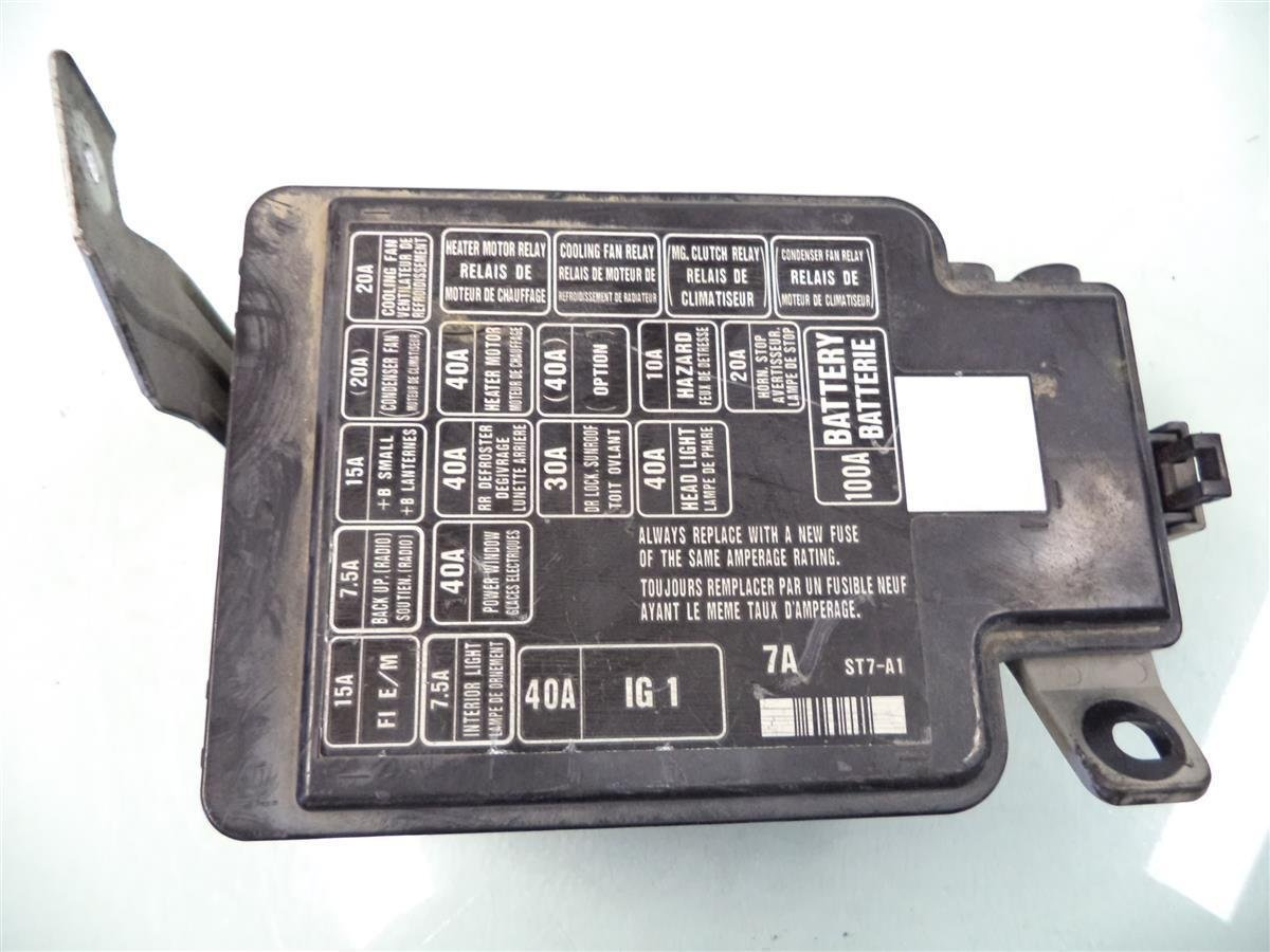 Amazon.com: 98 99 00 01 Acura Integra Under Hood Engine Fuse Relay Box unit  38250-ST7-A11: Automotive
