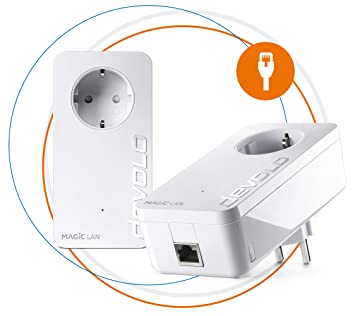 devolo Magic 2 LAN: Kit de Powerline PLC (2400 Mbps LAN para una Red doméstica): Devolo: Amazon.es: Informática