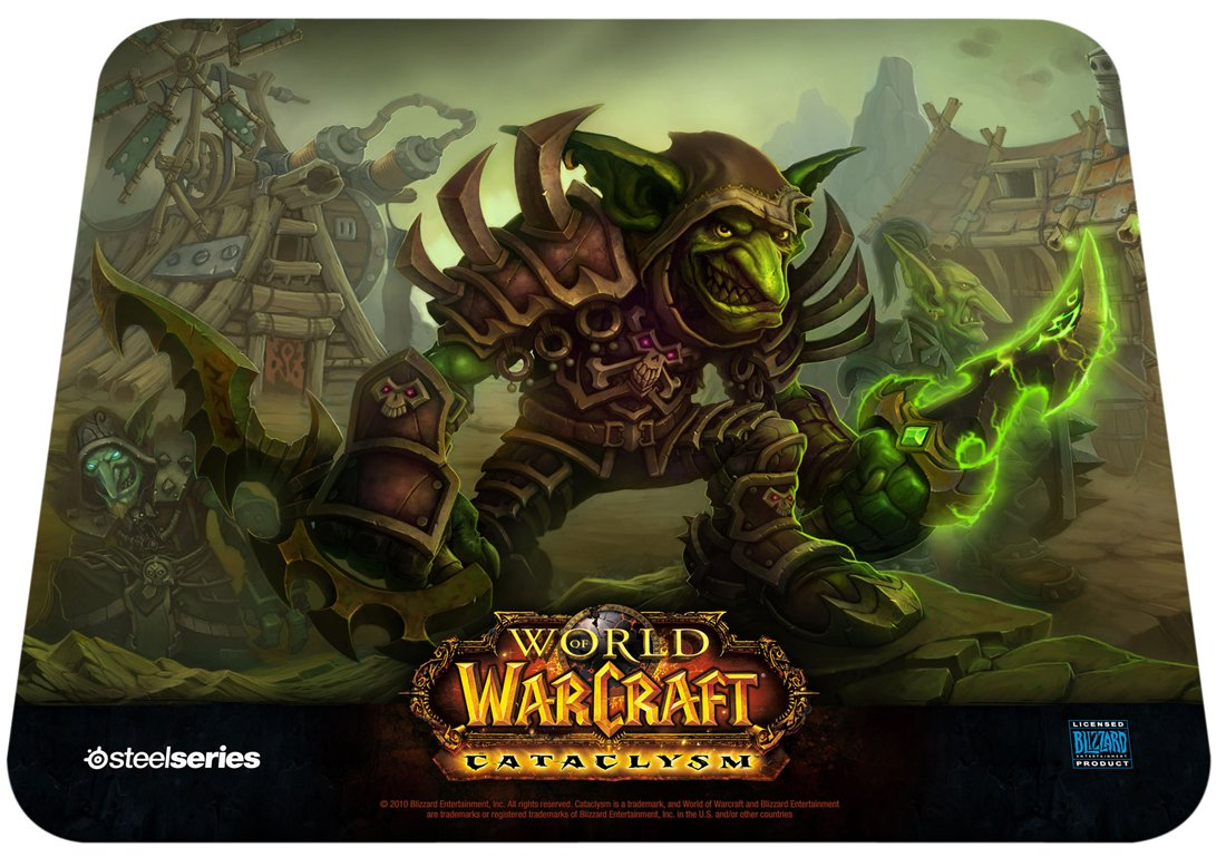 Mousepad SteelSeries QcK Surface - World Of Warcraft: Catacl