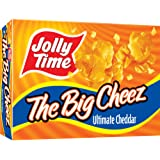 Jolly Time The Big Cheez Cheddar Cheese Microwave Popcorn, 3-Count Boxes (Pack of 12)