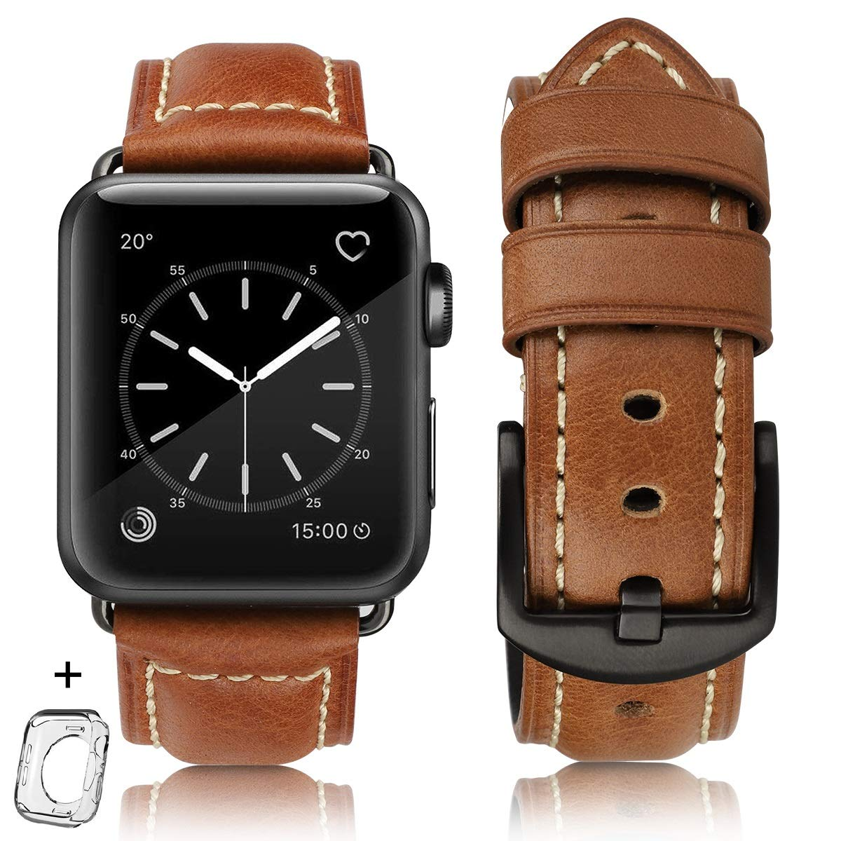 Malla Cuero Para Apple Watch (42/44mm) Hot [7rbdyvxr]
